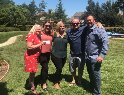 Shirley Ann Foundation presents a check for $20,000 to Shepherd's Gate!